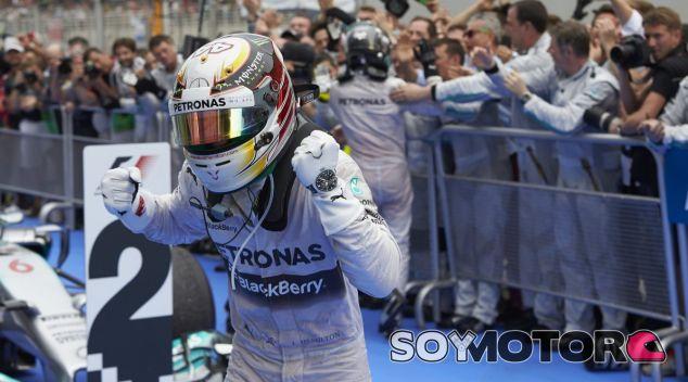 Hamilton no recuerda un dominio como el de Malasia en toda su carrera - LaF1