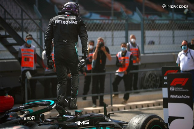Mercedes mantiene discurso: victoria circunstancial y miedo a Barcelona - SoyMotor.com