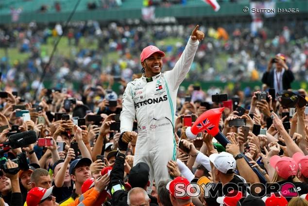 Lewis Hamilton, victorioso en el GP de Gran Bretaña F1 2019 - SoyMotor