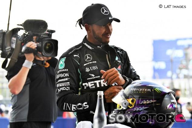 Lewis Hamilton en el GP de Rusia F1 2020 - SoyMotor.com
