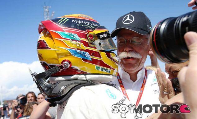 """Zetsche: """"La mejor forma de ganar es con un punto de diferencia"""" - SoyMotor.com"""