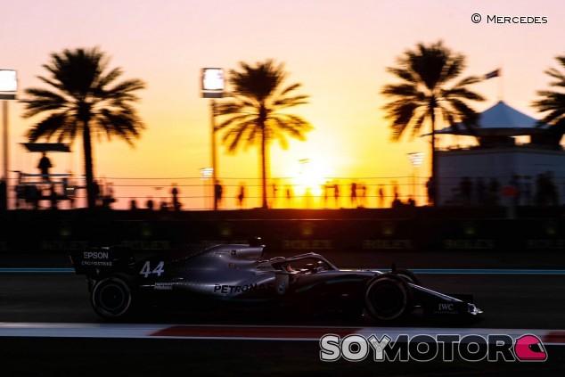 Mercedes en el GP de Abu Dabi F1 2019: Viernes - SoyMotor.com