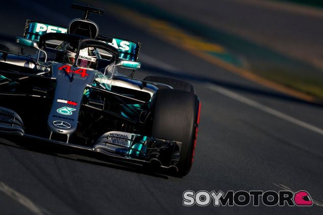 Lewis Hamilton en Albert Park –SoyMotor.com