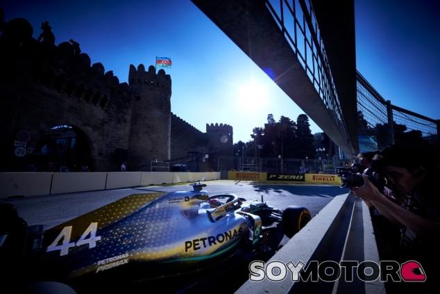 Mercedes en el GP de Azerbaiyán F1 2019: Sábado – SoyMotor.com