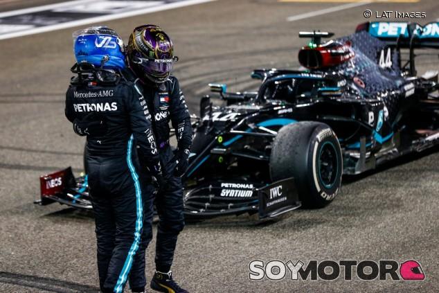 """Hamilton pide respeto para Bottas: """"No es fácil ser mi compañero"""" - SoyMotor.com"""