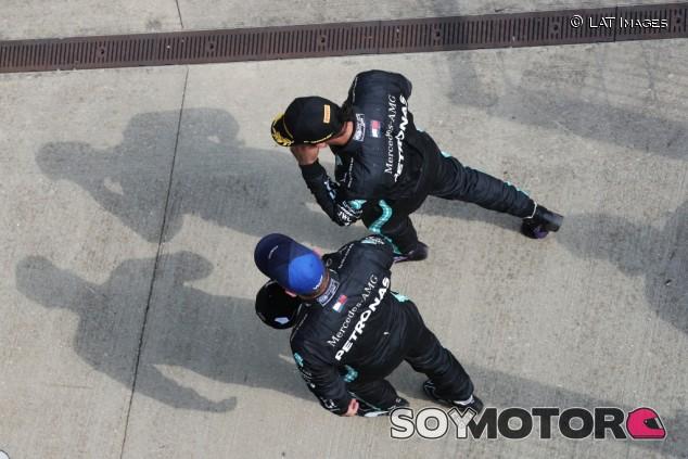 Mercedes en el GP del 70º Aniversario F1 2020: Domingo - SoyMotor.com