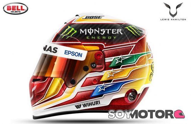 El nuevo diseño de Hamilton para 2017 - SoyMotor.com
