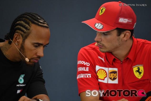 """Hamilton: """"Haré todo lo posible para impedir la segunda victoria de Leclerc"""" – SoyMotor.com"""