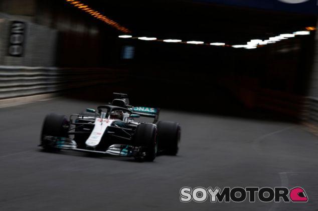 Lewis Hamilton en Mónaco – SoyMotor.com