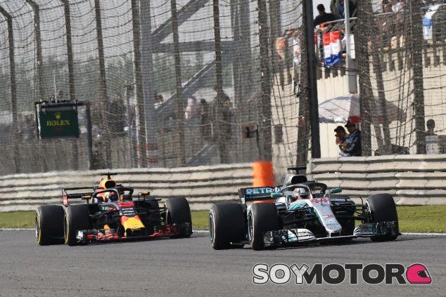 Mercedes delante de Red Bull en el GP de China 2018 – SoyMotor.com
