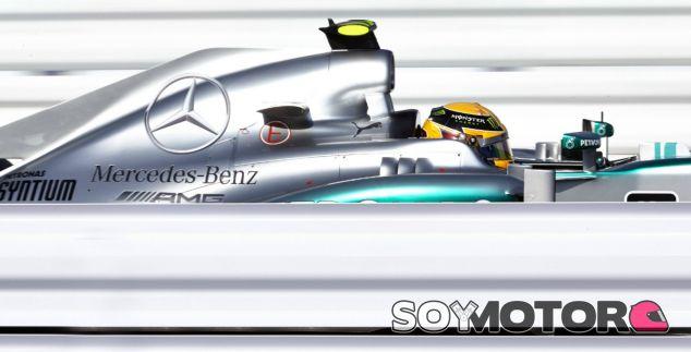 Lewis Hamilton en el circuito de Suzuka - LaF1