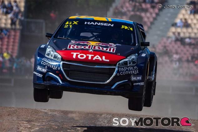Los Peugeot de los hermanos Hansen, intratables el primer día - SoyMotor