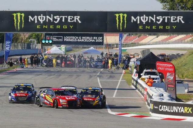Timmy Hansen, ganador de la cita del WRX en Barcelona - SoyMotor.com