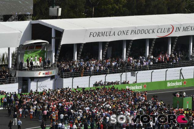 Podio del GP de México 2016 - SoyMotor.com
