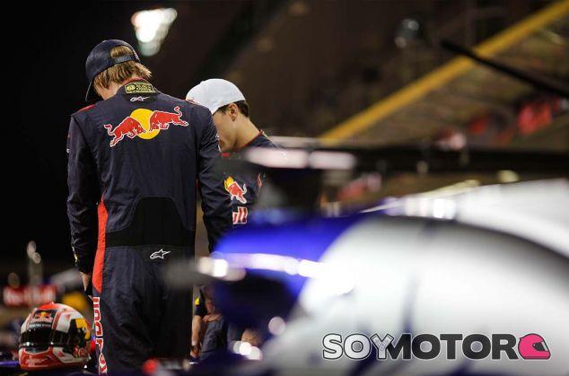Brendon Hartley y Pierre Gasly en Yas Marina - SoyMotor.com