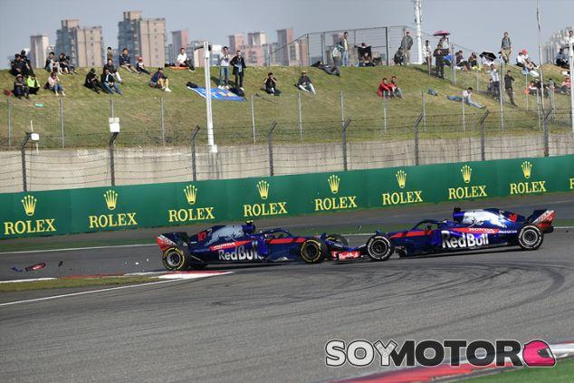 Brendon Hartley y Pierre Gasly en Shanghái - SoyMotor.com