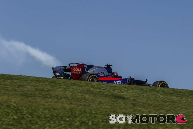 Rotura de motor de Hartley en Interlagos - SoyMotor.com