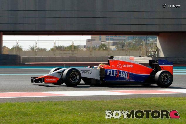 Haryanto corrió con Manor en los test de Abu Dabi y pretender hacerlo todo el 2016 - LaF1