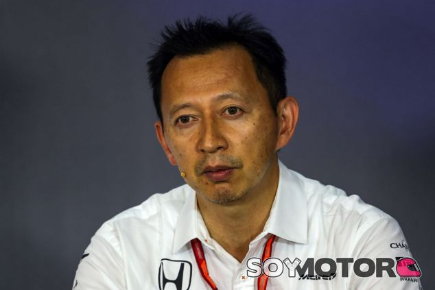 Hasegawa durante una rueda de prensa oficial de la FIA - SoyMotor.com
