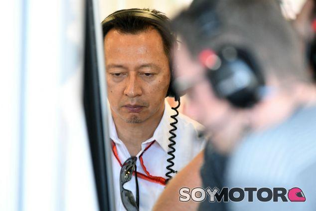 Hasegawa, durante un Gran Premio esta temporada - SoyMotor.com