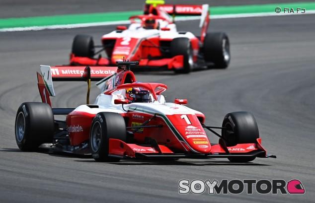 Hauger domina sin oposición la última carrera de F3 en Barcelona