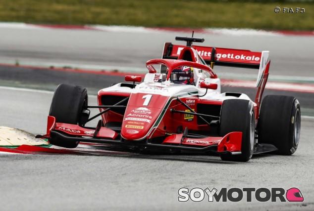Dennis Hauger consigue su primera Pole en F3 en Barcelona