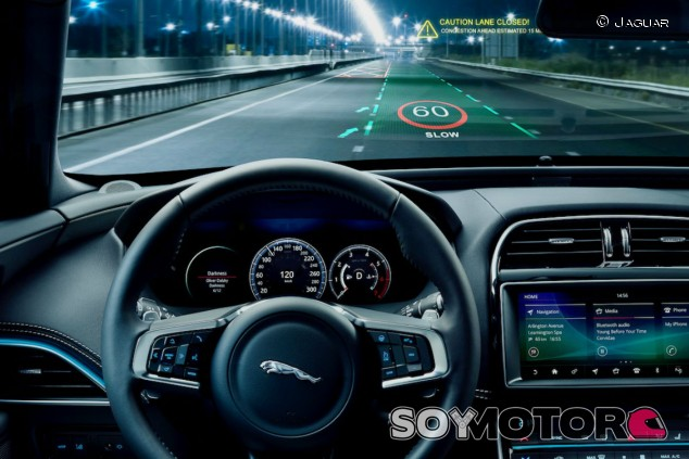 Jaguar Land Rover: los nuevos Head-Up Display, en 3D - SoyMotor.com