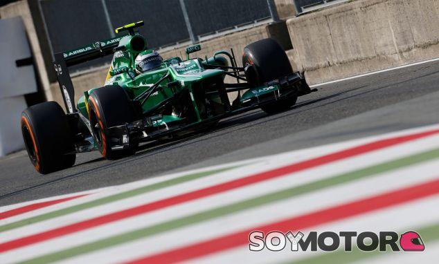 Heikki Kovalainen en el Gran Premio de Italia de 2013