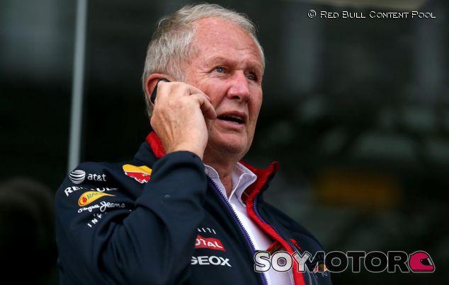 Helmut Marko charla por teléfono - LaF1.es