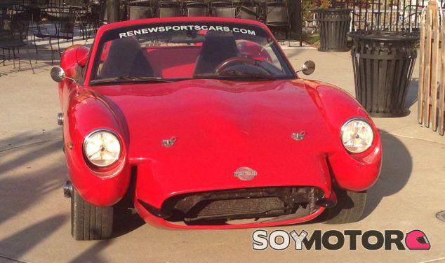 Este deportivo diseñado con Cannabis tiene un aire retro, de deportivo de los 70 - SoyMotor