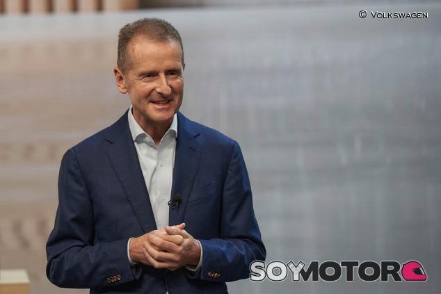 Herbert Diess, presidente del Grupo Volkswagen - SoyMotor.com