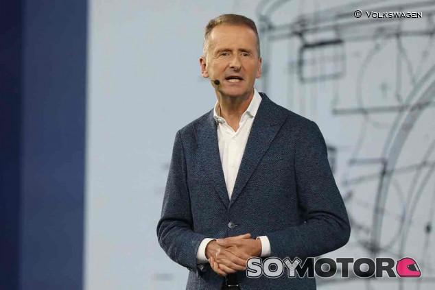 Herbert Diess, director ejecutivo del Grupo Volkswagen - SoyMotor.com