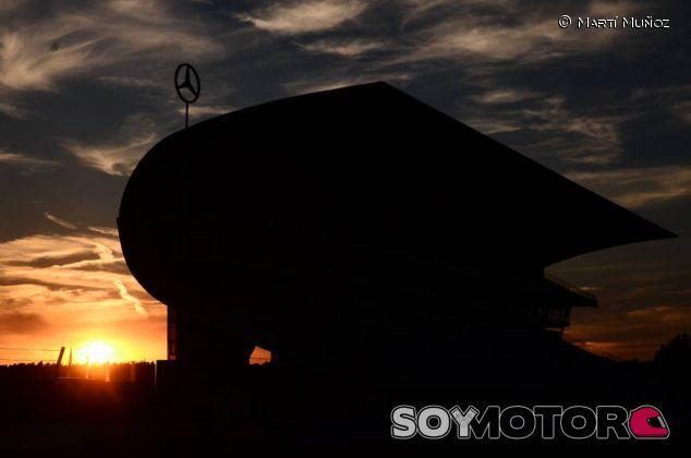 Puesta de sol en Hockenheim - LaF1