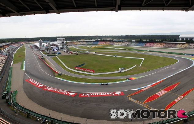 Vista del circuito de Hockenheim, Alemania - LaF1