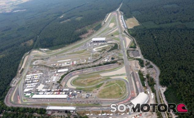 Vista aérea del Hockenheimring - LaF1