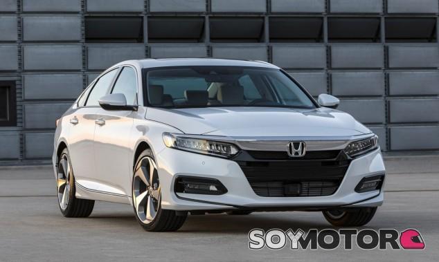 Honda ha desvelado las primeras imágenes del nuevo Accord al natural - SoyMotor