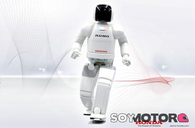 El robot de Honda, Asimo, dará la salida en la IndyCar de Alabama - Soymotor.com