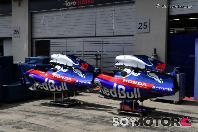 Detalle de Toro Rosso en el GP de Austria - SoyMotor