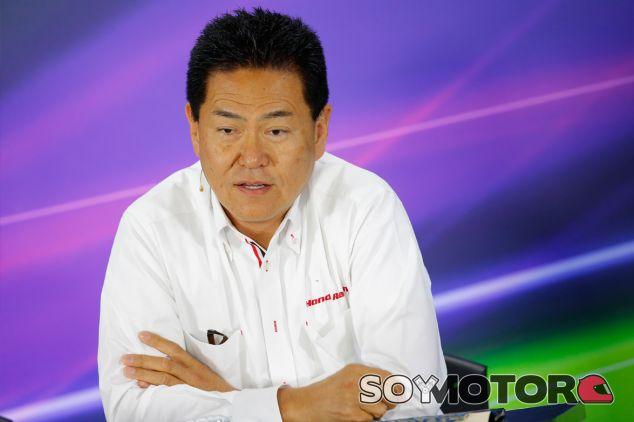 Yasuhisa Arai en la rueda de prensa de la FIA - LaF1