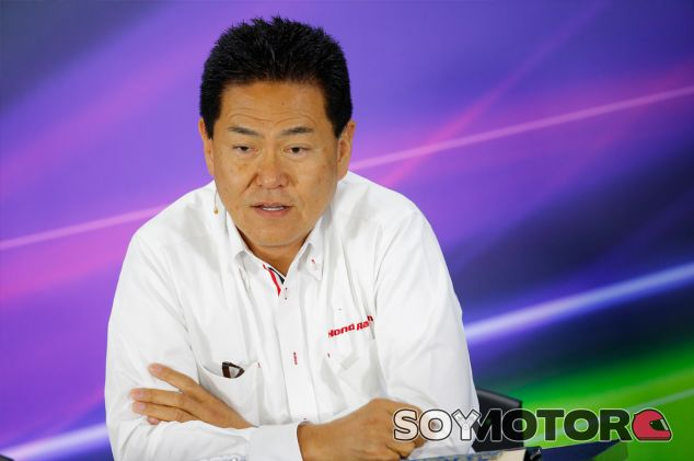 Yasuhisa Arai, máximo responsable de Honda F1, en una imagen de archivo - LaF1