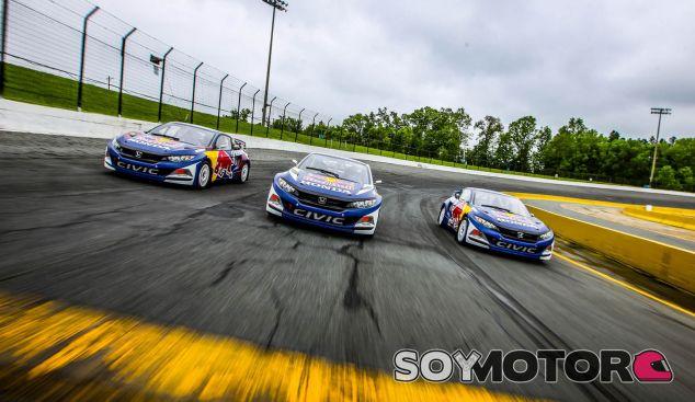 Honda Civic Coupé: quizás el coche más bonito de Rallycross - SoyMotor.com