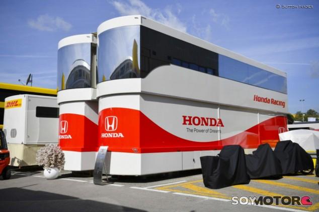 Honda en el paddock de la Fórmula 1 - SoyMotor