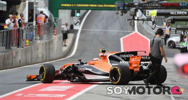 Vandoorne durante el GP de Austria 2017 - SoyMotor.com