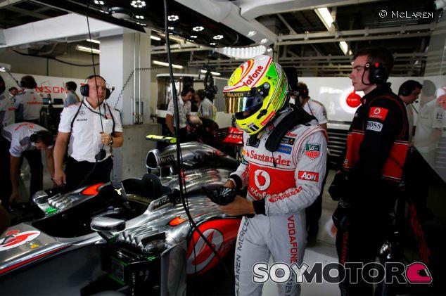 Sergio Pérez durante el Gran Premio de Japón - LaF1
