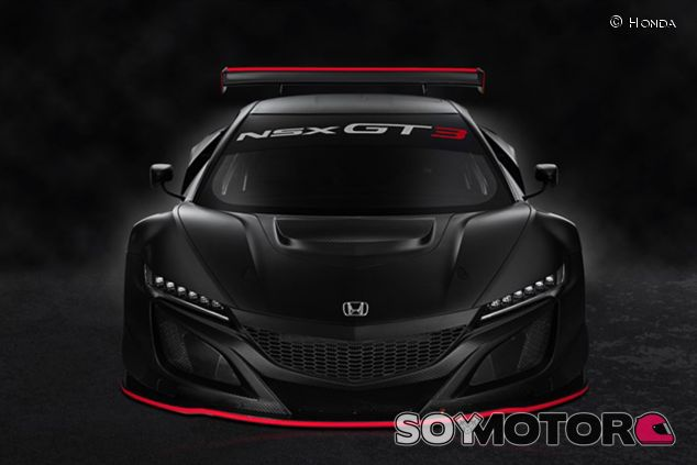 Así es el Honda NSX GT3 - SoyMotor