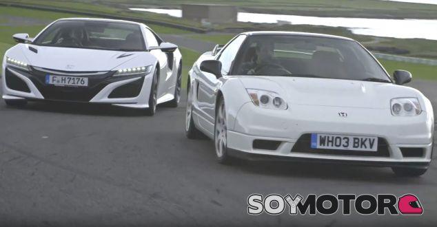 Honda NSX 2017 vs Honda NSX 2002 - SoyMotor.com