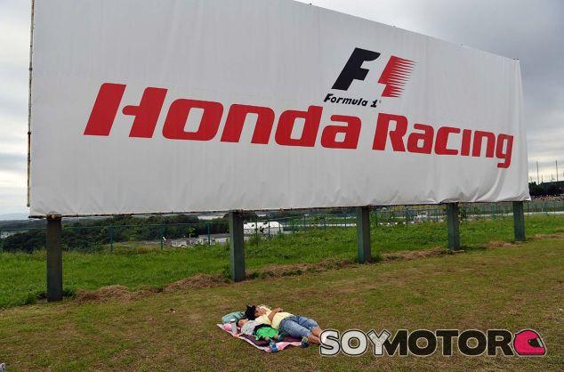 Logo de Honda en Suzuka - SoyMotor.com