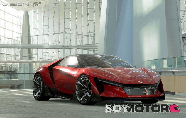 Desvelado el nuevo Honda Sports Vision Gran Turismo - SoyMotor