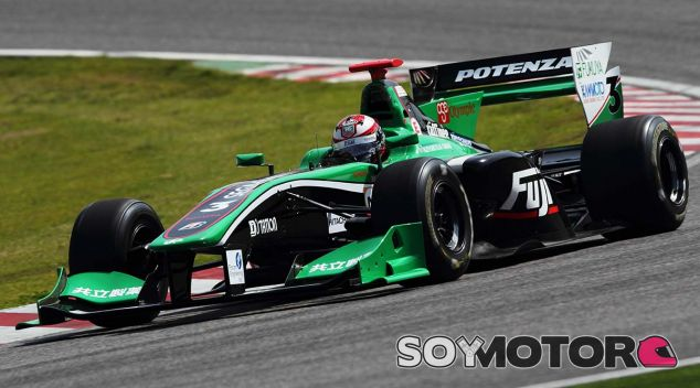 Monoplaza de la Super Formula japonesa - LaF1
