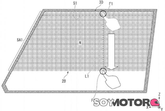 Boceto de la tecnología de Honda - soymotor.com